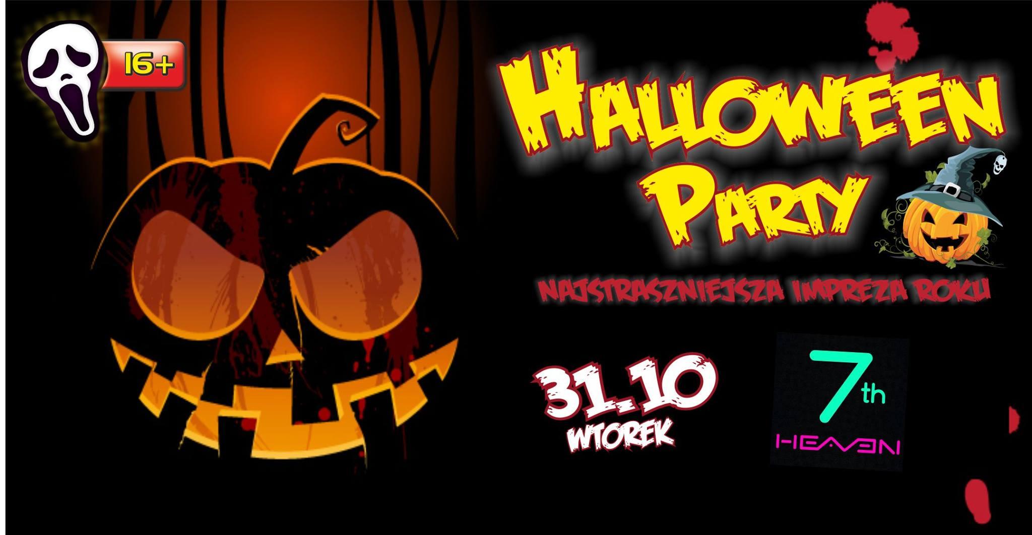 Halloween Party – Noc Zalanych Trupów / 31.10 / Seven Heaven 16+