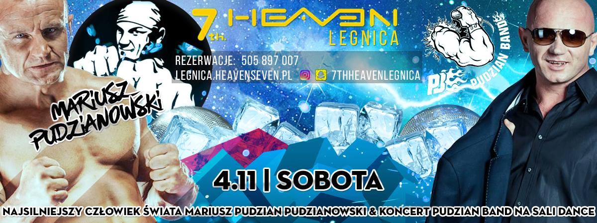 Pudzian live Show w Legnicy 7thHeaven