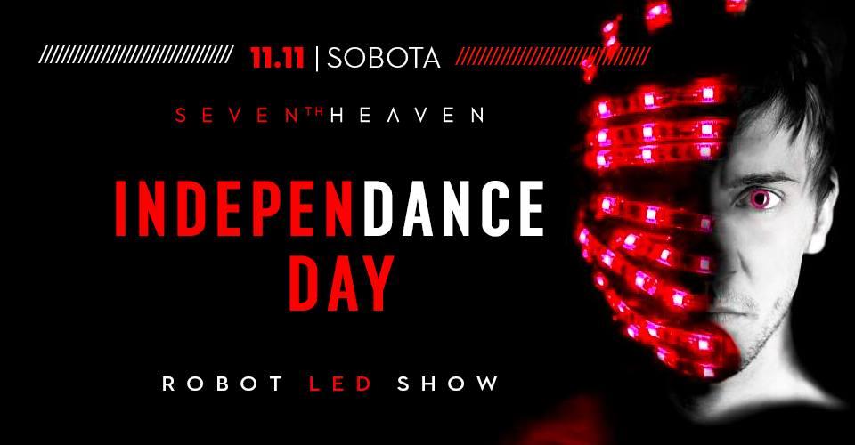 Sobota w Niebie 'Dzień Niepodległości' Legnica 7thHeaven LEDshow